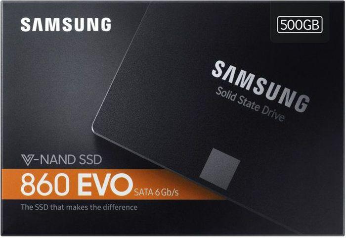 SSDдиск Samsung 860 EVO SATA III 500Gb MZ76E500BW