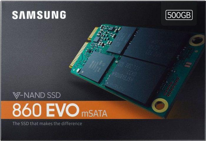 SSDдиск Samsung 860 EVO SATA III 500Gb MZM6E500BW