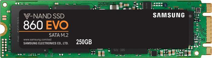 SSD диск Samsung 860 EVO SATA III 250Gb (MZ-N6E250BW)