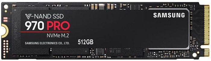 SSD диск Samsung 970 PRO PCI-E x4 512Gb (MZ-V7P512BW) ssd диск samsung 970 pro pci e x4 512gb mz v7p512bw