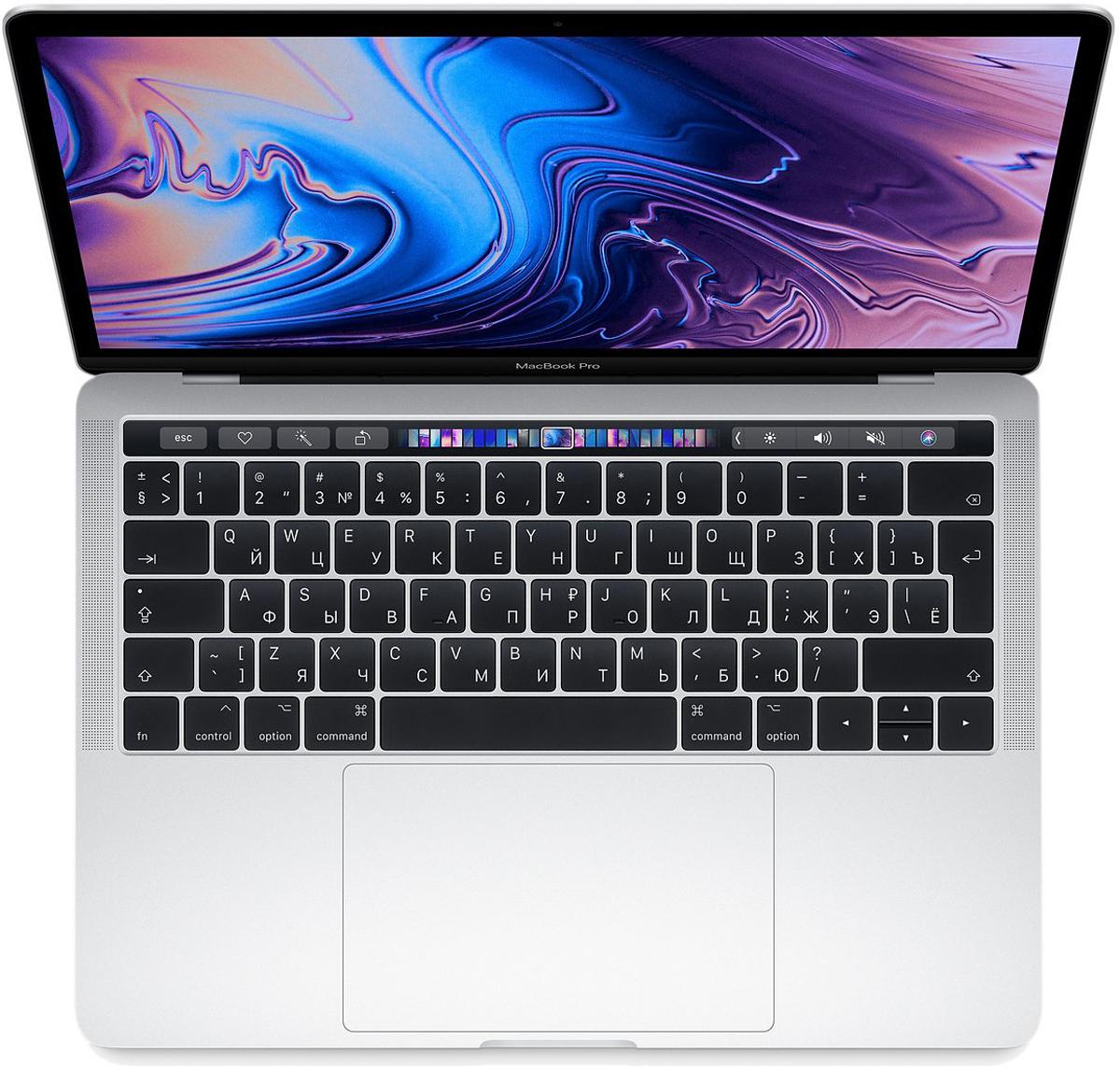Ноутбук Apple MacBook Pro 13, MR9V2RU/A, серебристый ноутбук apple macbook pro z0va000cr