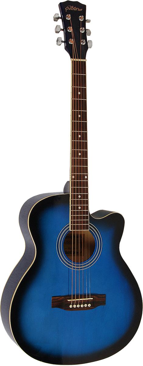 Elitaro E4010C, Blue акустическая гитара цена