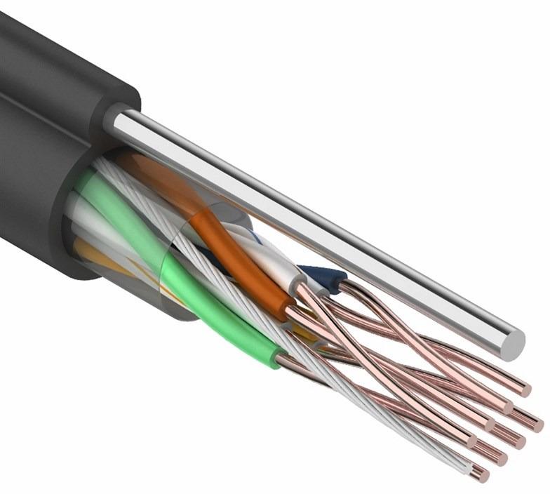 Фото - Rexant 01-0046, Black кабель UTP (305 м) кабель utp 4pr 24awg cat5e outdoor 1 пог м
