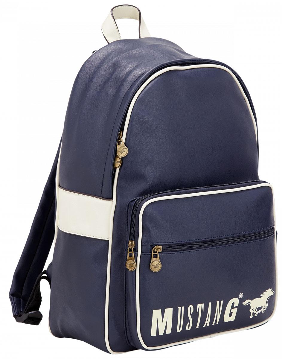 Рюкзак мужской MUSTANG Dayton Brad MVZ, цвет: темно-синий. 4100000015-402 рюкзак мужской quiksilver everydaypostemb m eqybp03501 bng0 королевский синий