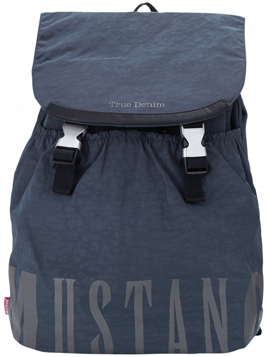 Рюкзак мужской MUSTANG El Paso Ace XLVF, цвет: темно-синий. 4100000027-402 рюкзак мужской icepeak цвет темно синий 259515000iv