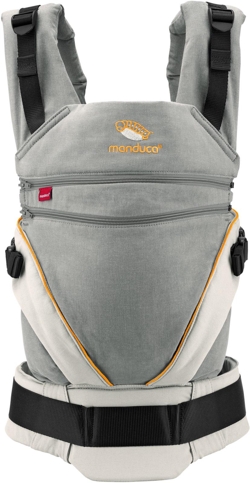 Manduca Слинг-рюкзак цвет оранжевый цены