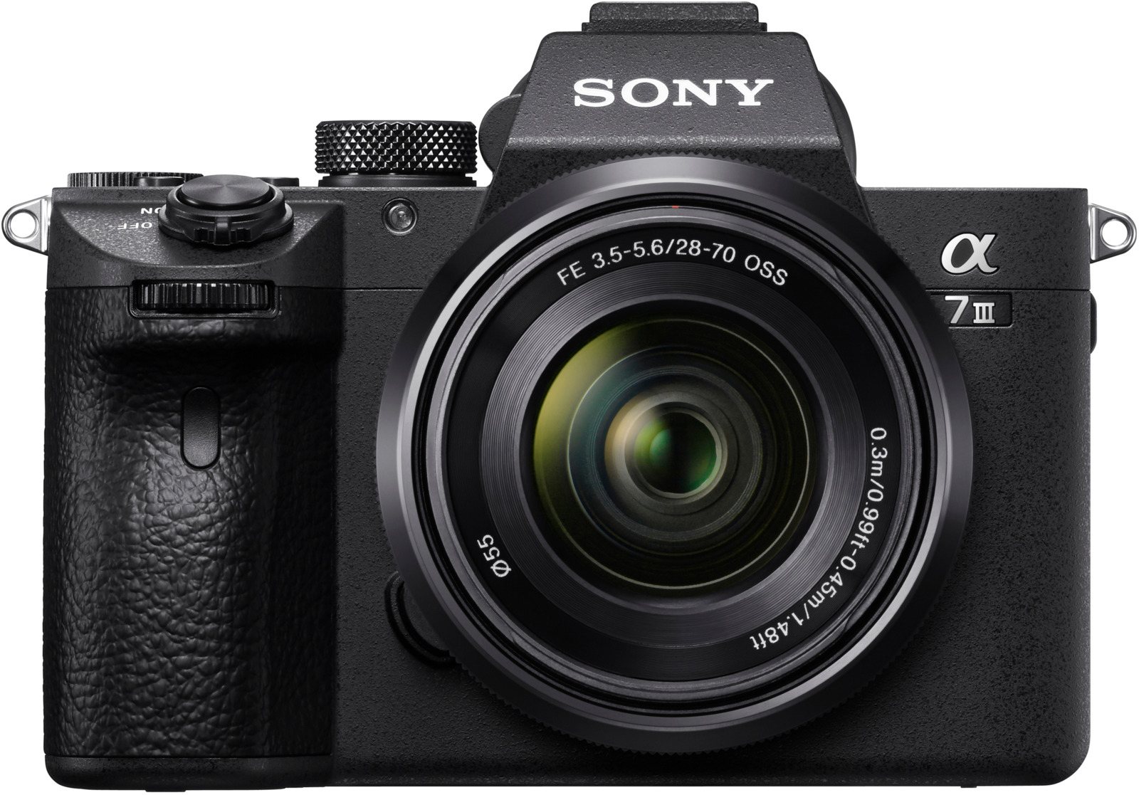 Sony ILCE-7M3K, Black цифровой фотоаппарат фотоаппарат sony ilce 6000ls