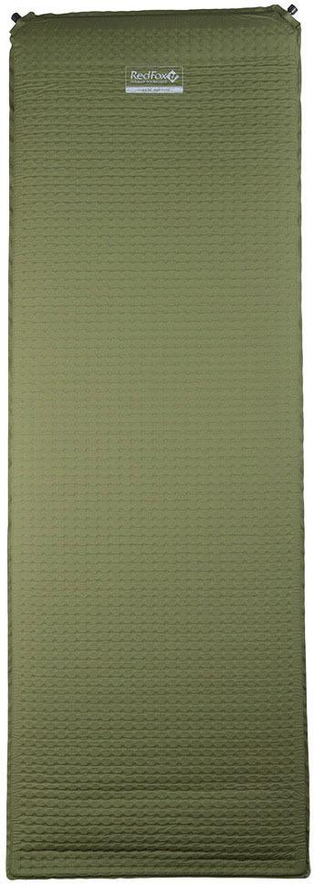 Коврик самонадувающийся Red Fox Basic Mat XLarge, цвет: хаки, 198 х 66 х 7,6 см
