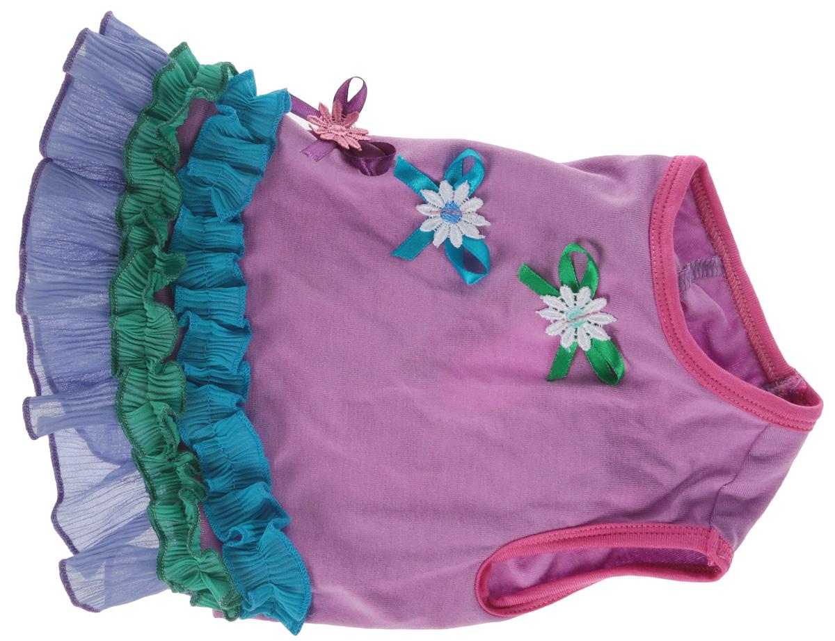 """Платье для собак Happy Puppy """"Софи"""", для девочки. Размер 3 (L)"""