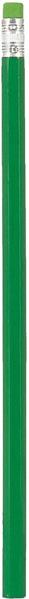 Calligrata Карандаш чернографитный с ластиком твердость HB цвет корпуса зеленый карандаш чернографитный с ластиком твердость нв цвет корпуса черный желтый