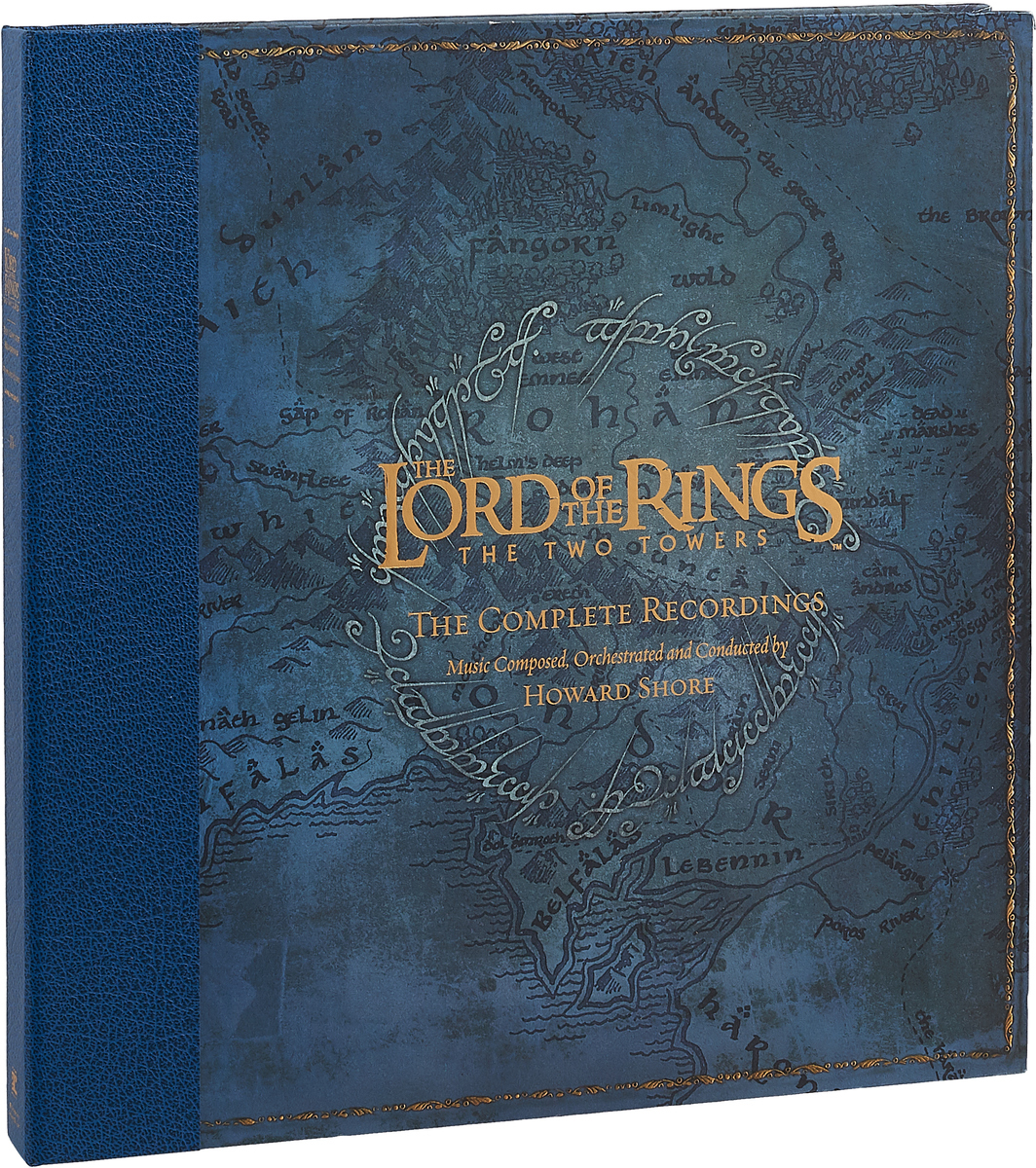 Ховард Шор Howard Shore. The Lord of The Rings. The Two Towers - The Complete Recordings (5 LP) саундтрек саундтрекhoward shore the lord of the rings the return of the king the complete recordings 6 lp 180 gr