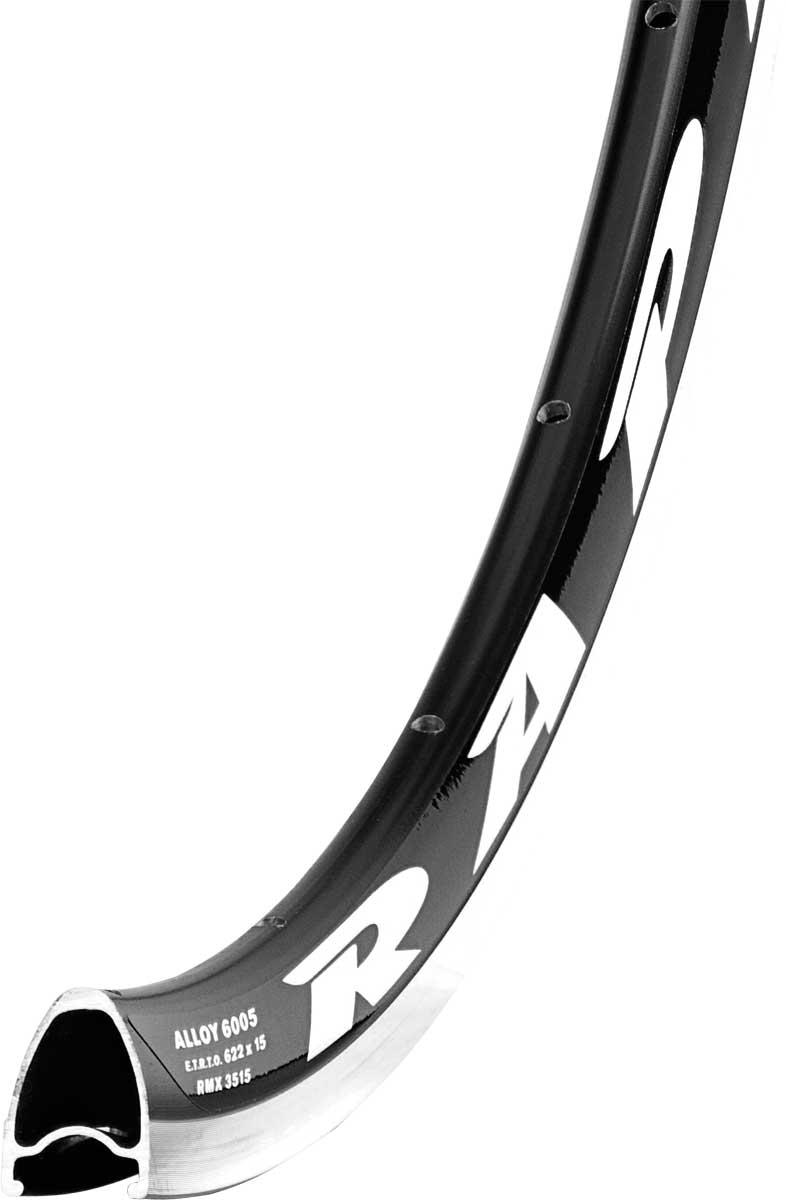 Обод Remerx Rapid RX3515 28 (622x15), 32 спицы, с индикатором износа, черный