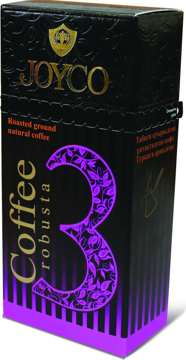 JOYCO Кофе молотый №3 (robusta), 100 г