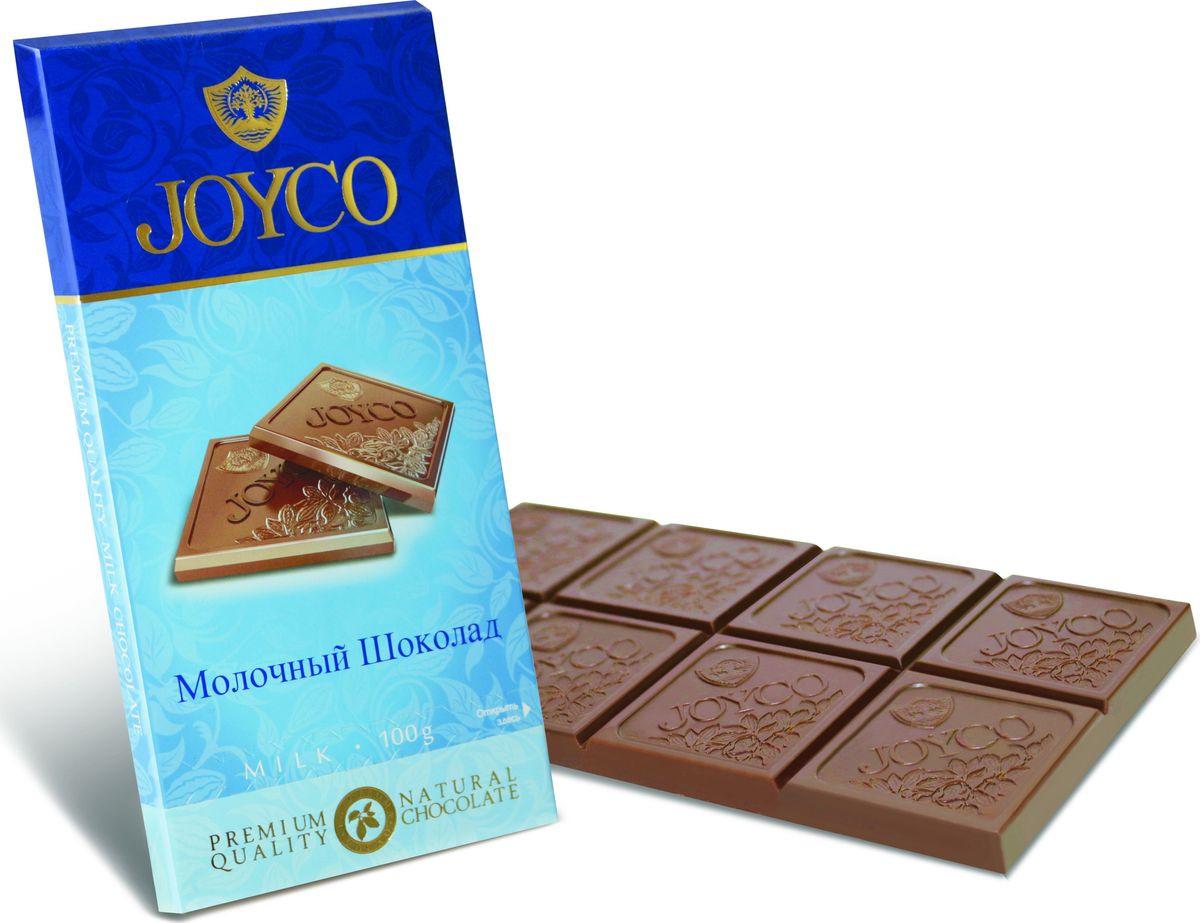 JOYCO Молочный шоколад, 100 г спартак шоколад молочный 500 г