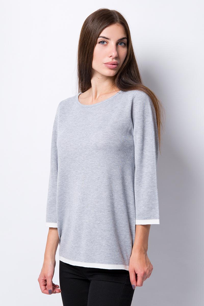 Джемпер Sela блузка женская sela цвет кипенно белый b 112 510 8340 размер 46