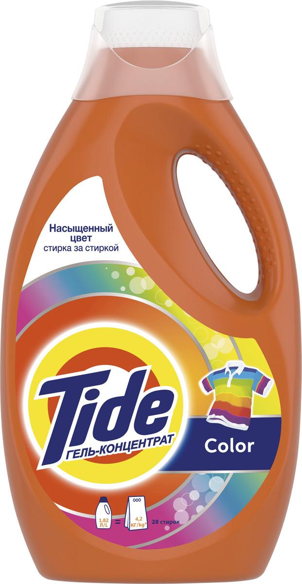 """Гель для стирки Tide """"Color"""", 1,82 л"""