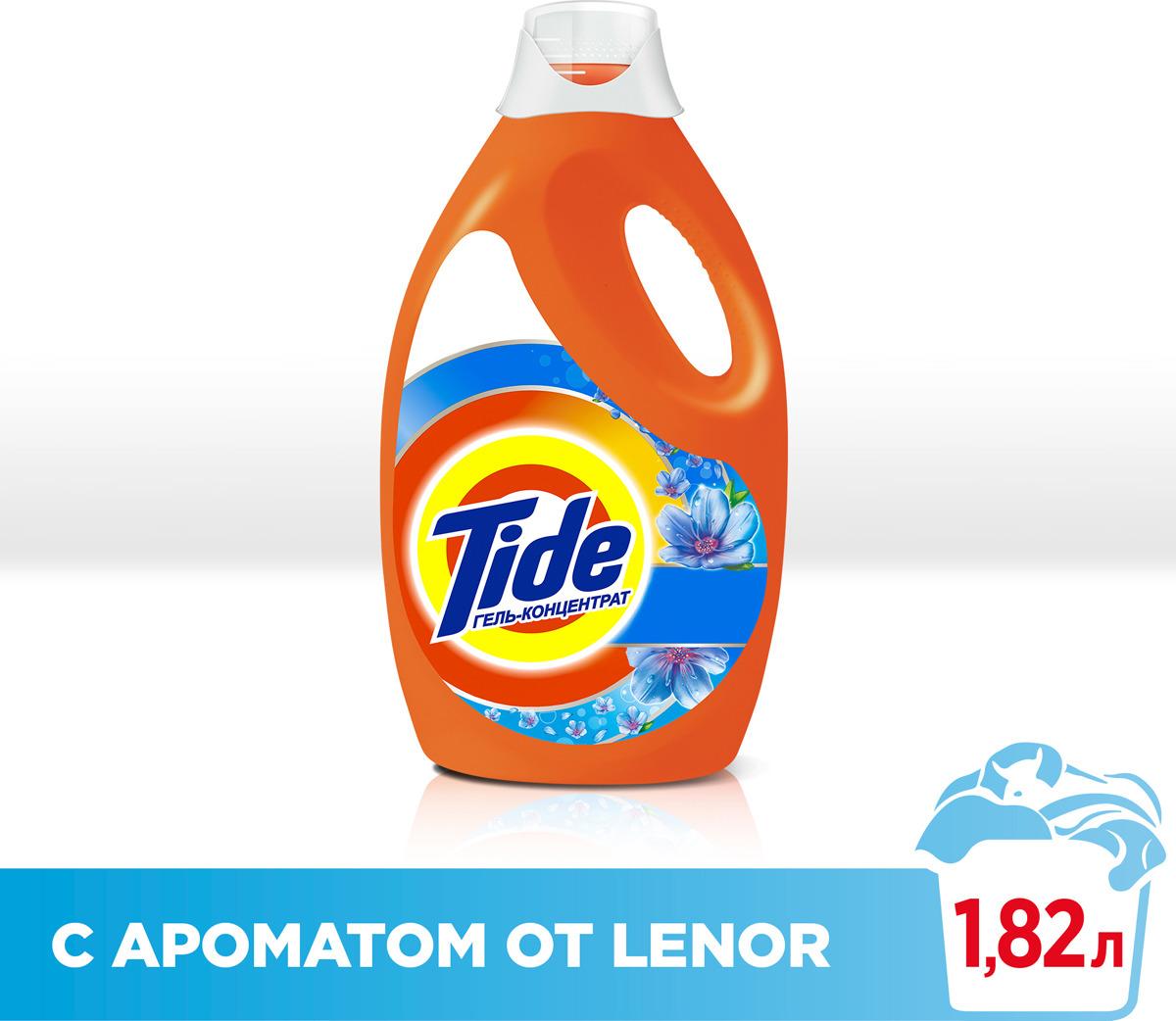 """Гель для стирки Tide """"Touch of Lenor Fresh"""", 1,82 л"""
