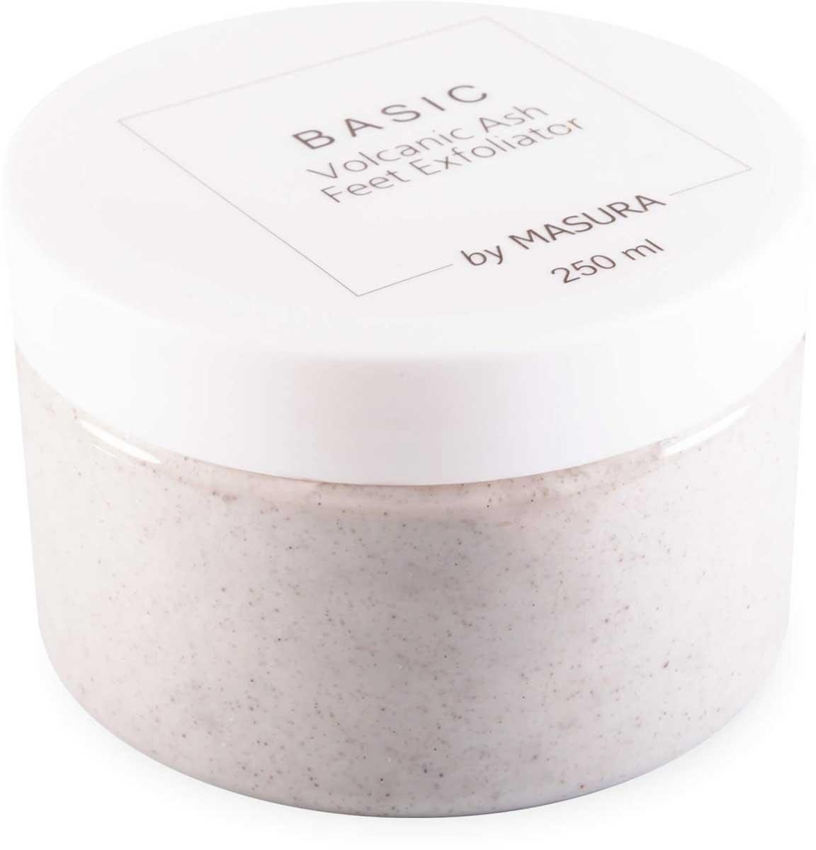 Masura, Освежающий скраб для ног с вулканической пудрой и эвкалиптом, 250 мл8025Освежающий скраб для ног с вулканической пудрой и эвкалиптом. Снимает ороговевший слой кожи со стопы, бережно ухаживает за кожей ног. Используйте 2-3 раза в неделю вместе с кремом для ног BASIC Natural Herbs. Средство подходит для очень сухой и чрезмерно ороговевшей кожи стоп. Эффективно удаляет ороговевший эпидермис и разглаживает кожу. Стимулирует кровообращение.