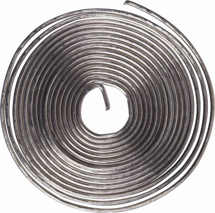 Припой с канифолью Rexant ПОС-61, диаметр 0,8 мм, спираль 1 м припой с канифолью rexant пос 61 1 5mm 09 3115