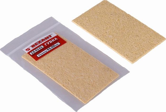 Губка для очистки паяльного жала Rexant, 93 x 50 мм мартини спа губка из целлюлозы для детей игрушки