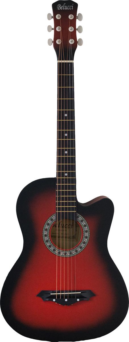 Belucci BC3820, Red акустическая гитара цена