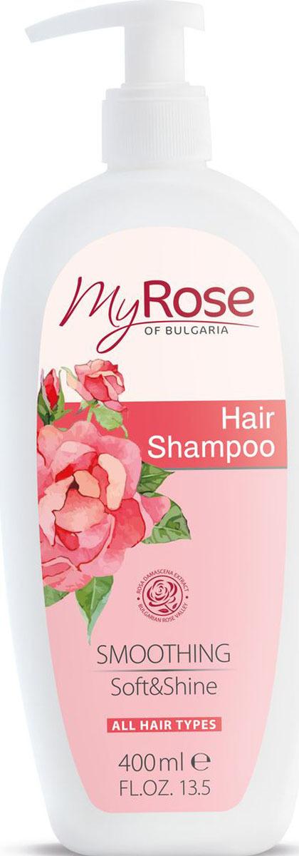 Шампунь для волос My Rose of Bulgaria, 400 мл недорго, оригинальная цена