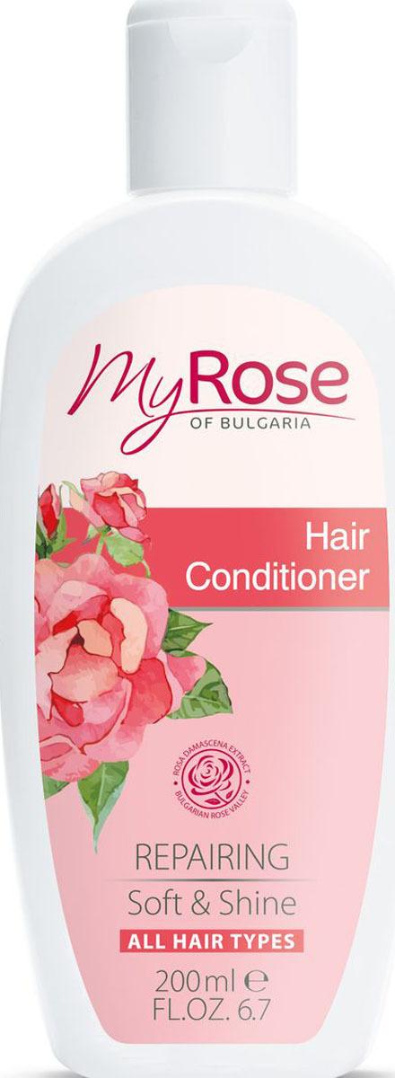 Кондиционер для волос My Rose of Bulgaria, 200 мл недорго, оригинальная цена
