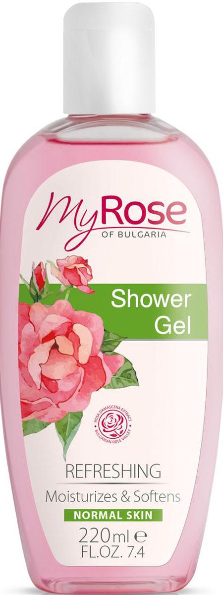Гель для душа My Rose of Bulgaria, 220 мл недорго, оригинальная цена