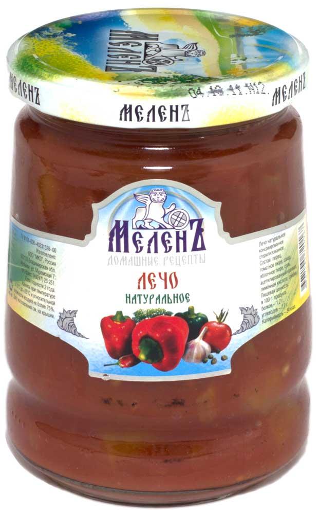 цены на Лечо натуральное Меленъ, 580 г  в интернет-магазинах
