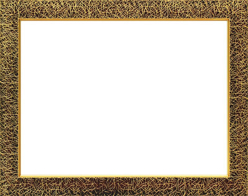 """Рама Белоснежка """"Sara"""", цвет: коричневый, золотистый, 30 х 40 см"""