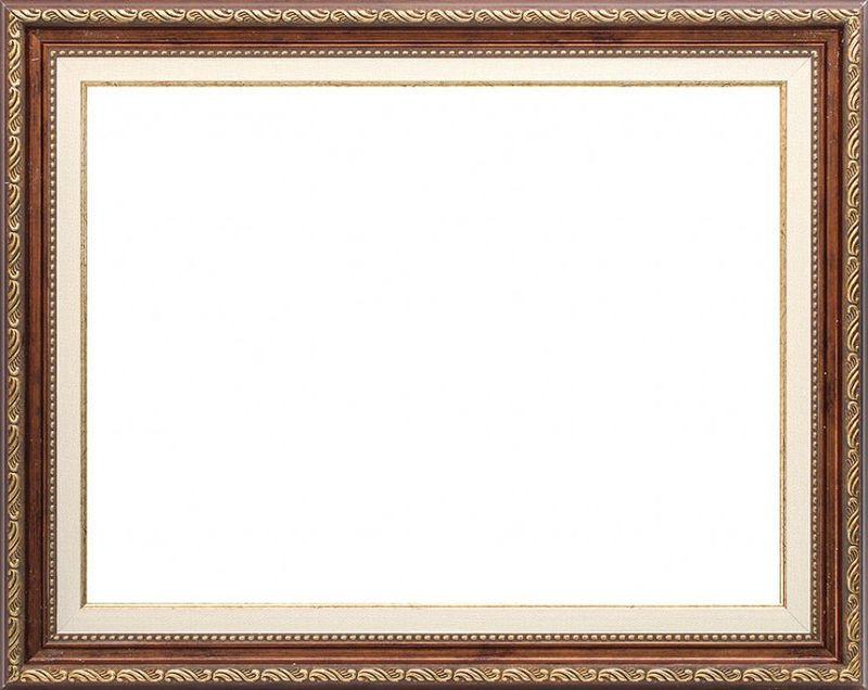 """Рама Белоснежка """"Bridget"""", цвет: коричневый, золотистый, 49 х 59 см"""