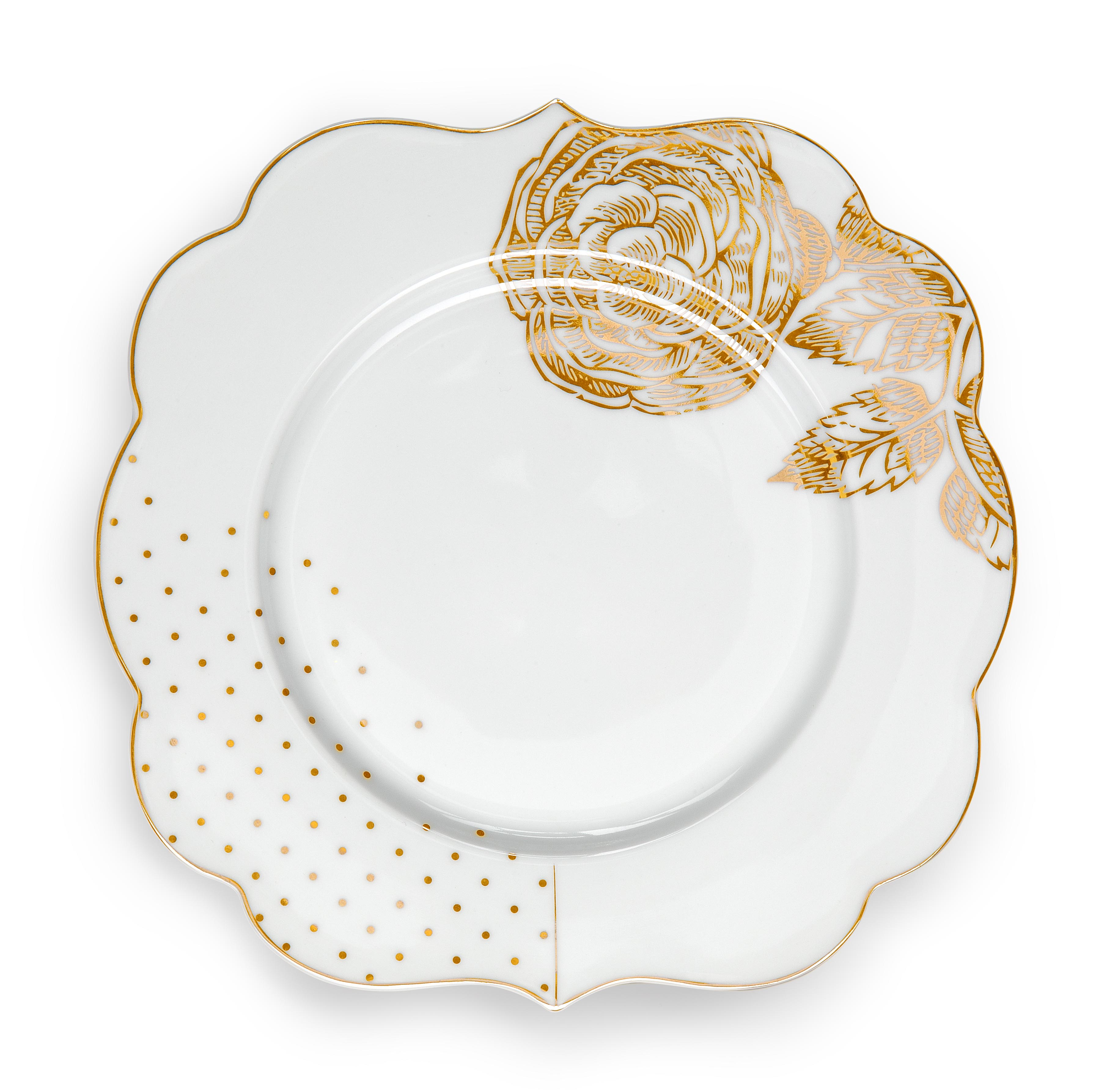 Набор из 2-х тарелок Royal White