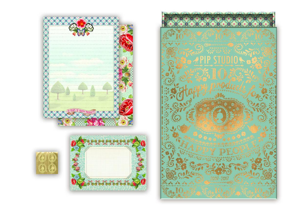 Набор для письма Pip studio, 17.02.19.761, в подарочной упаковке, мультиколор