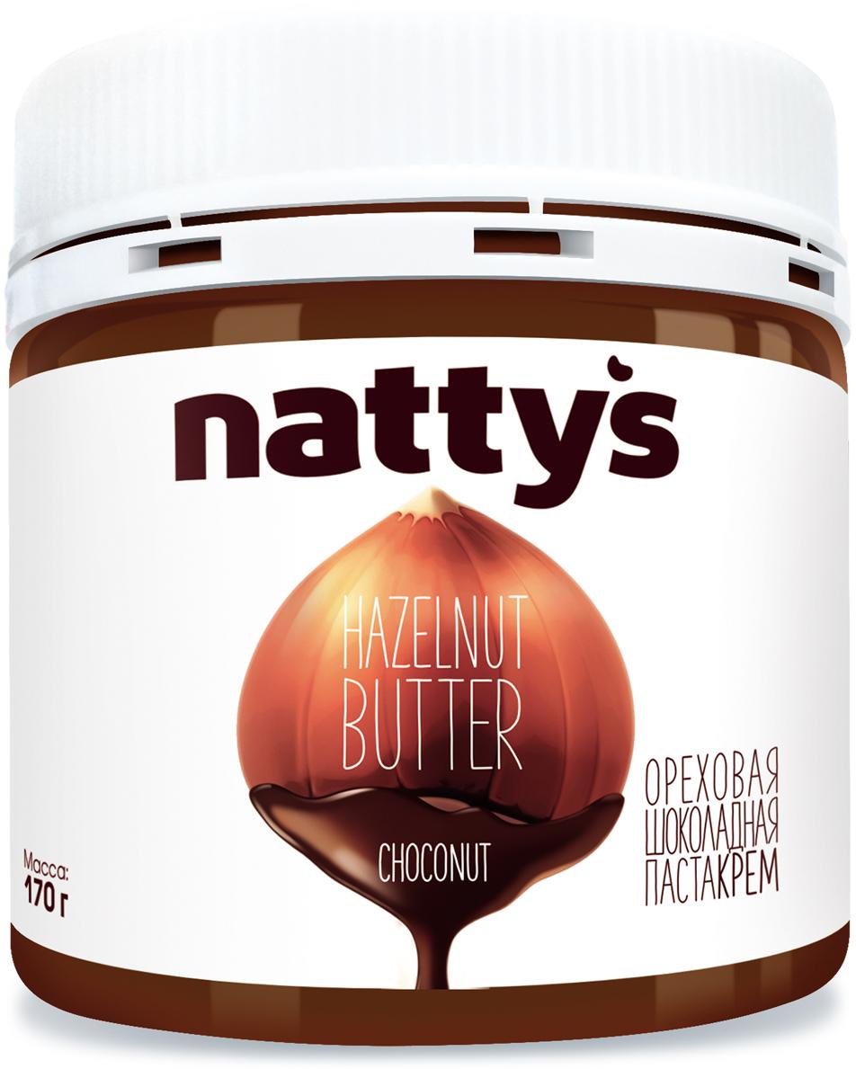 Natty's паста-крем шоколадно-ореховая, 170 г