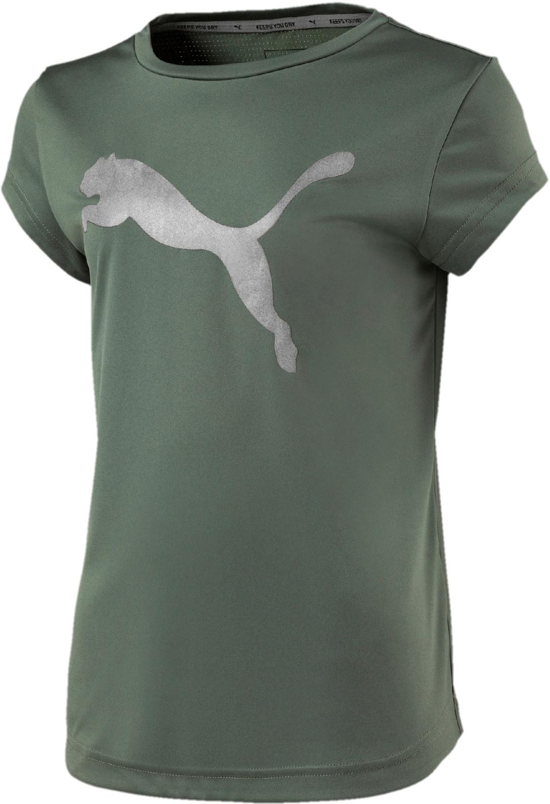 Футболка PUMA Explosive Graphic Tee G футболка мужская puma style athletics graphic tee цвет серый зеленый 85002839 размер xl 50 52
