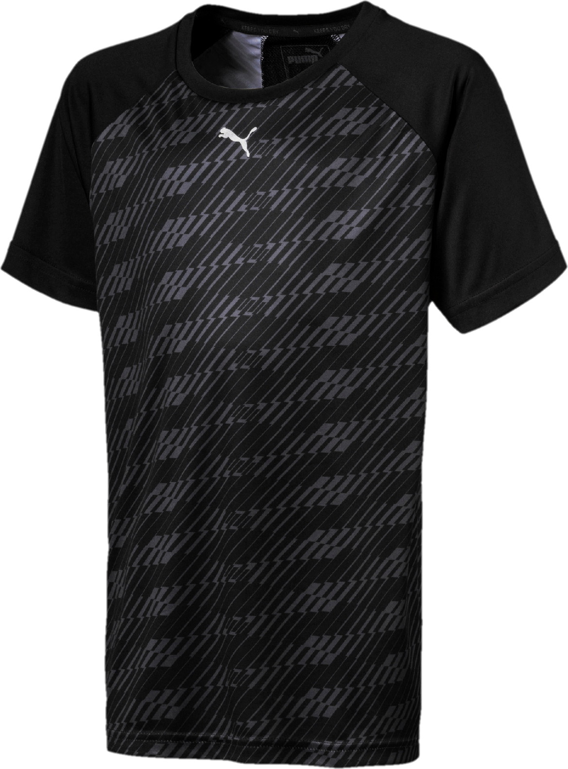 Футболка PUMA Gym Graphic AOP Tee B футболка puma футболка softsport graphic layer tee