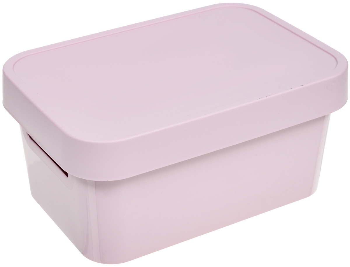 Коробка для хранения Curver Infinity, с крышкой, цвет: розовый, 4,5 л цена