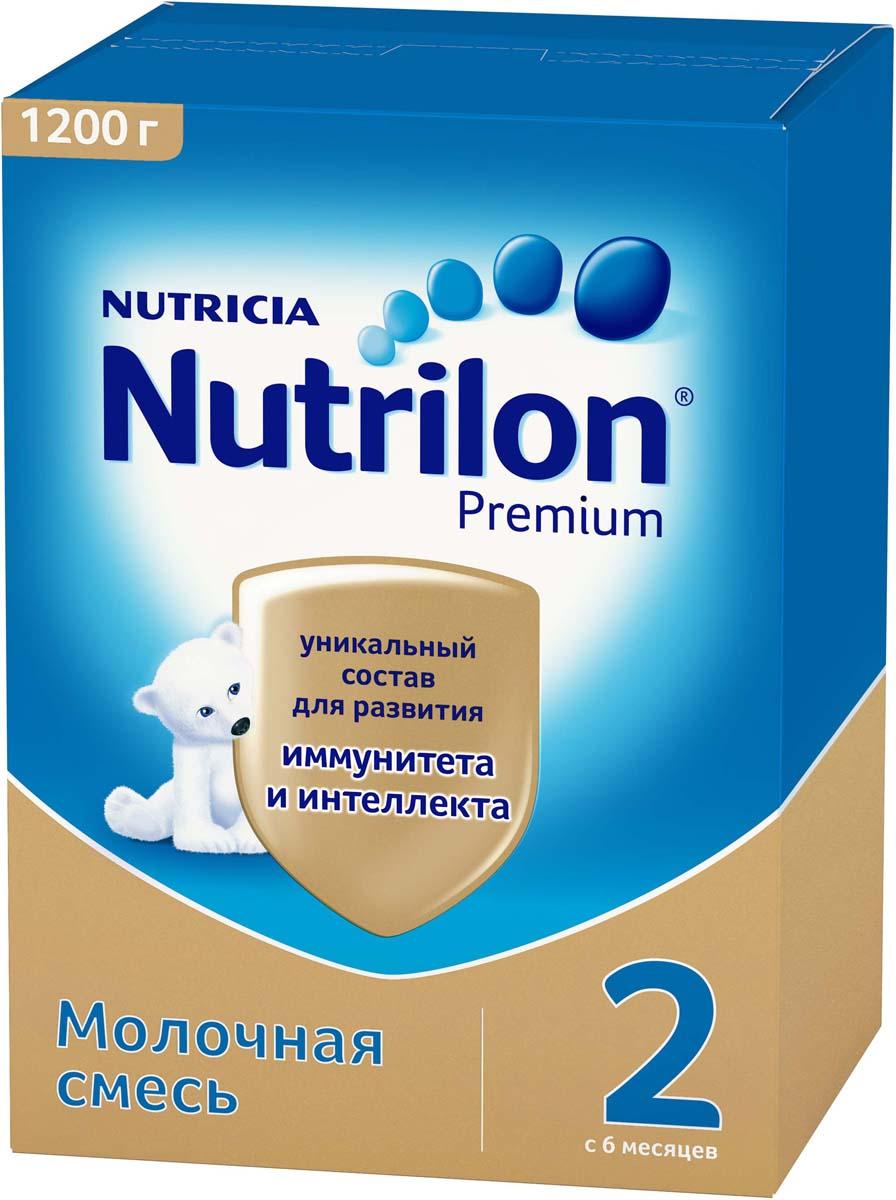 Молочная смесь Nutrilon Premium 2, 1200 г
