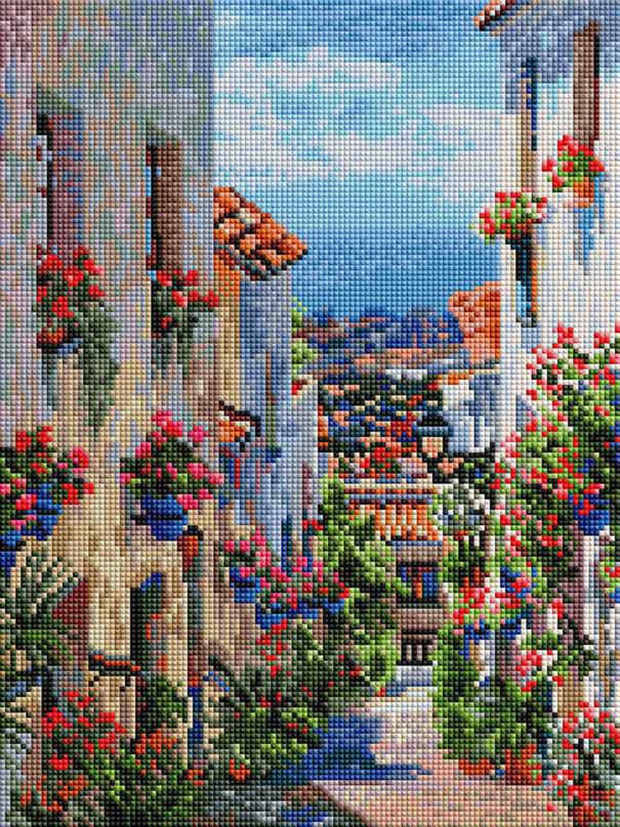 Алмазная мозаика Белоснежка Испания. Михас, 30 х 40 см набор для творчества алмазная мозаика храм василия блаженного 40 х 50 см
