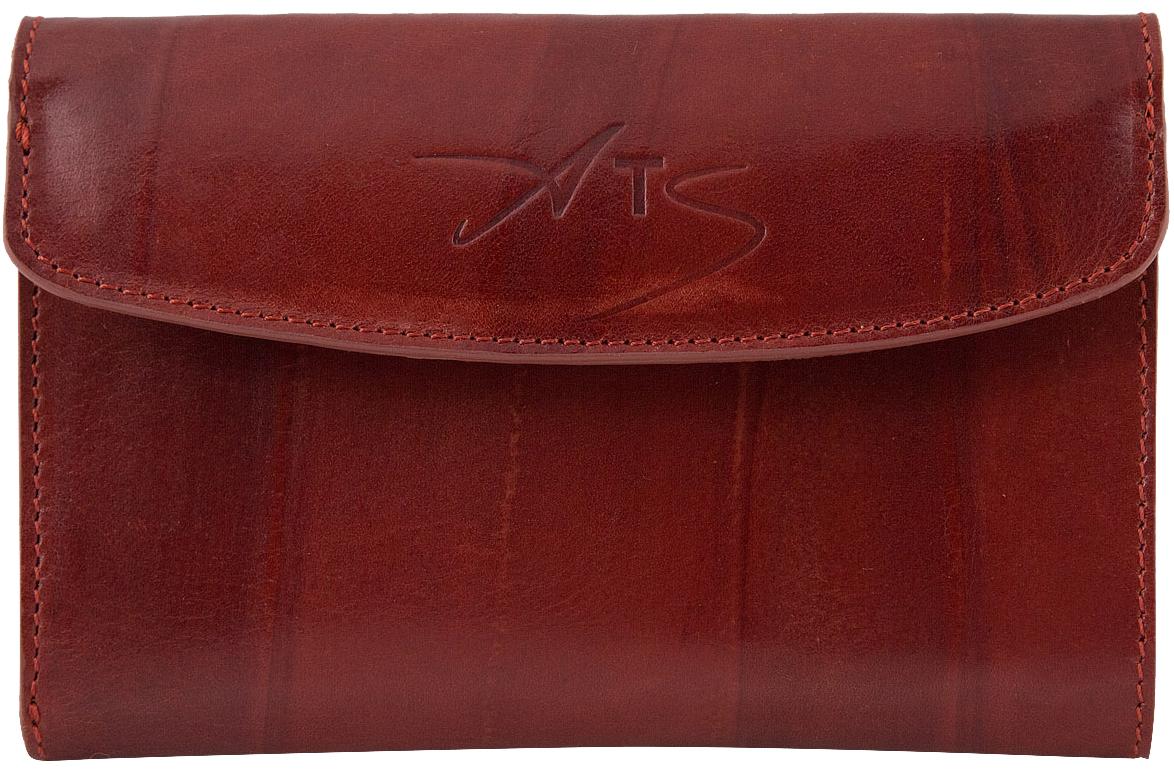 цена Кошелек женский Alexander-ts, цвет: коричневый. KH002 Cognac онлайн в 2017 году