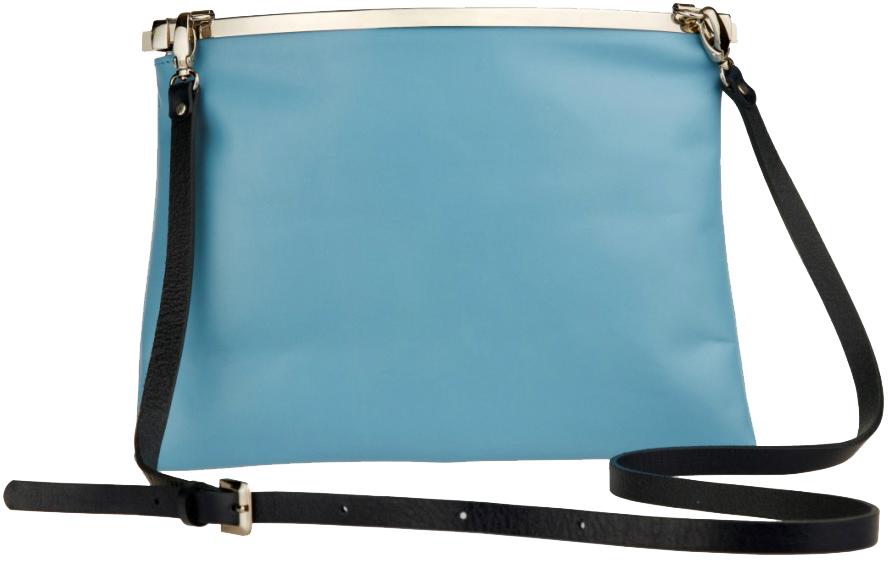 цена Клатч женский Alexander-ts, цвет: голубой. W0009 онлайн в 2017 году