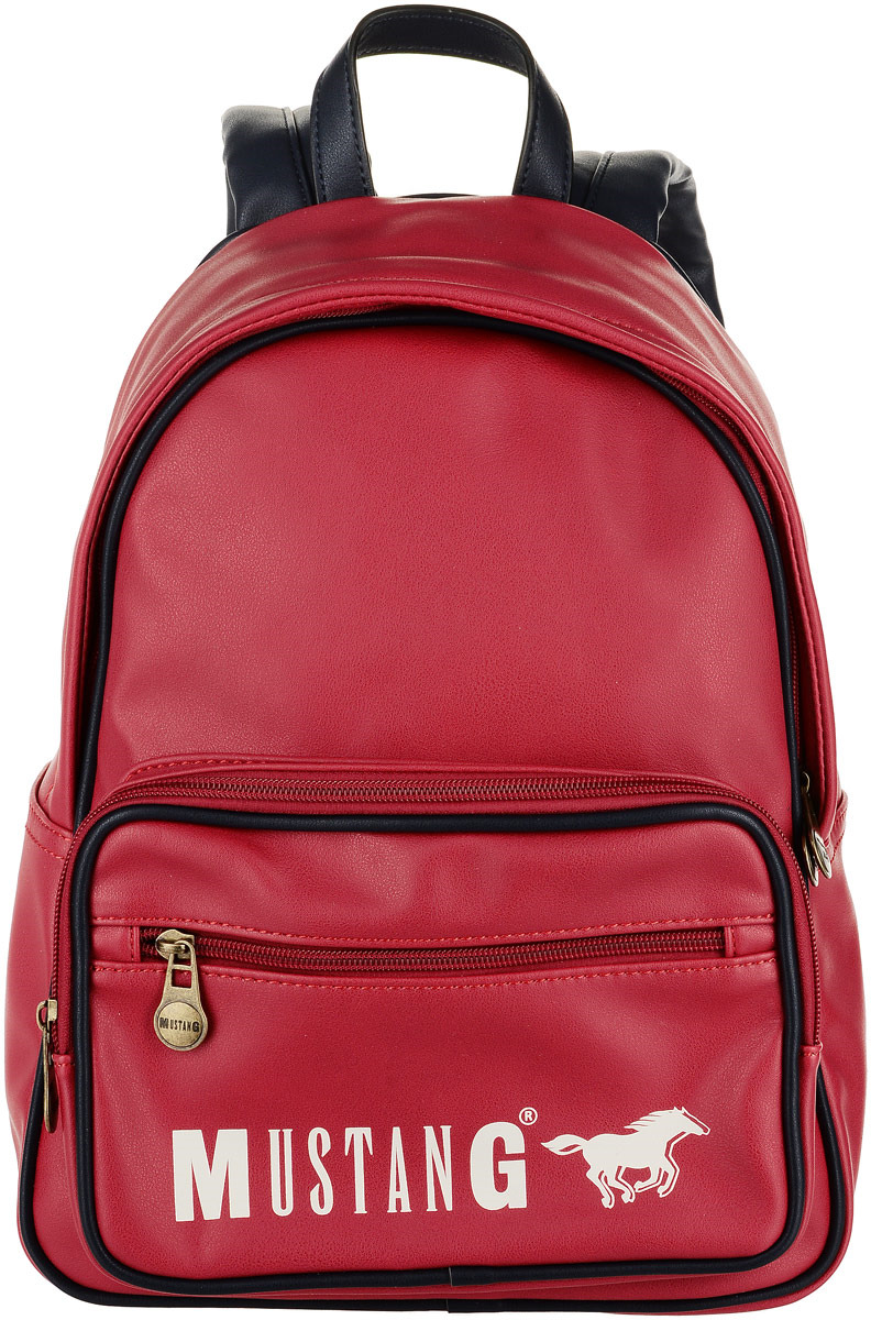 Рюкзак женский MUSTANG Dayton Debby MVZ, цвет: красный. 4100000062-300 ремень женский mustang цвет темно серый mw3024l14 0770 размер 95