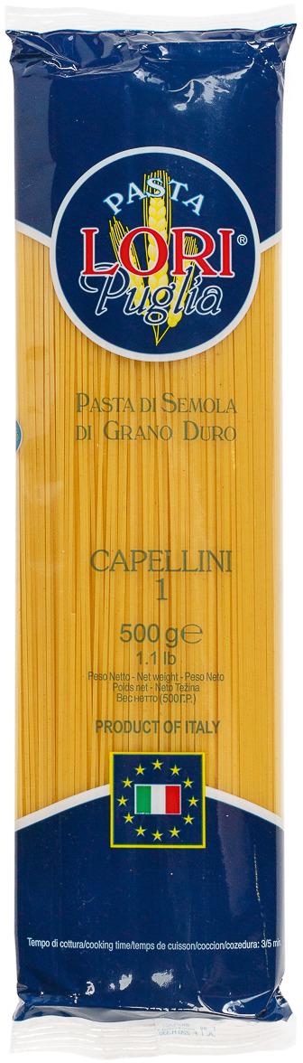 Макароны Pasta Lori Puglia Капеллини №1, 500 г