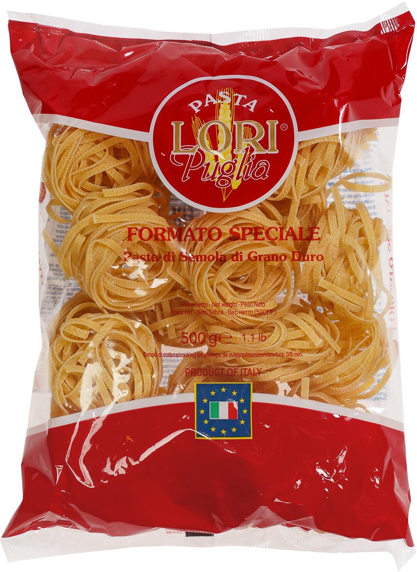 Макароны Pasta Lori Puglia Тальятелле №178, 500 г