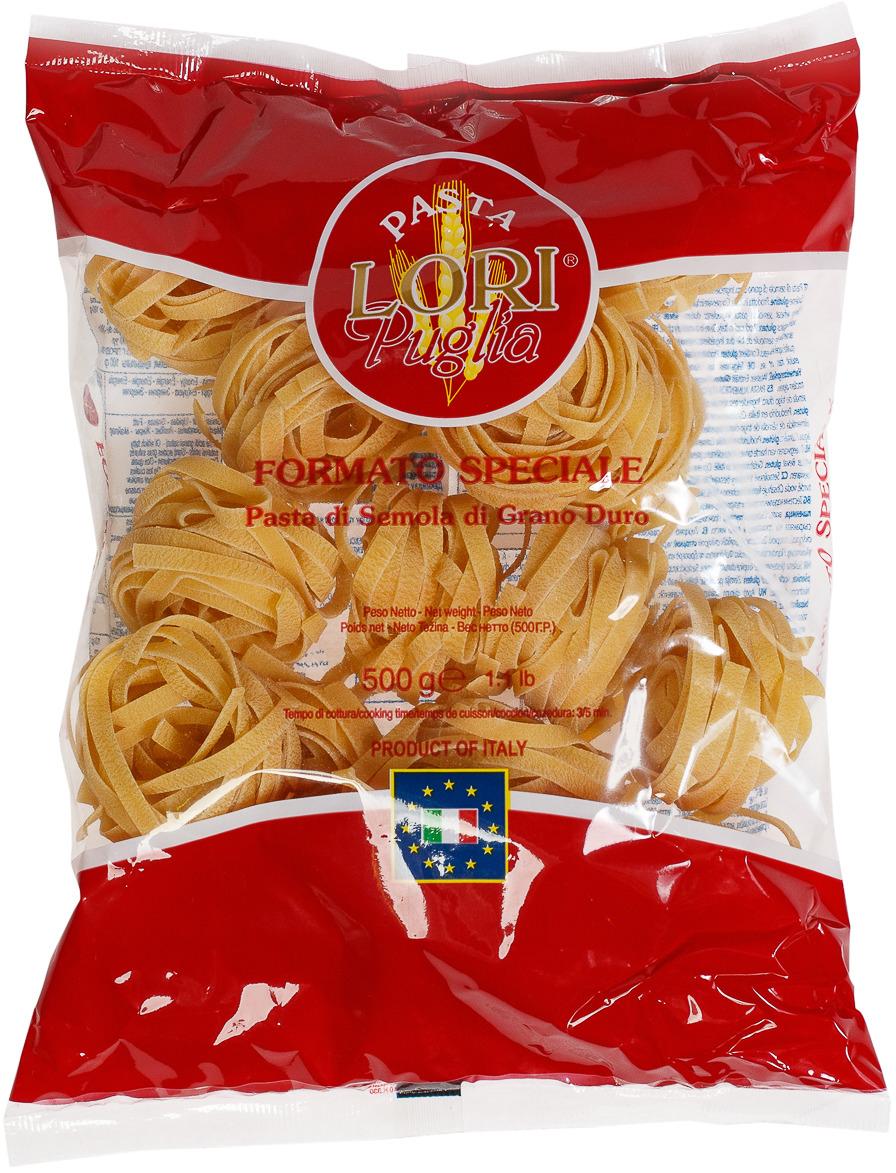 Макароны Pasta Lori Puglia Феттучине №177, 500 г