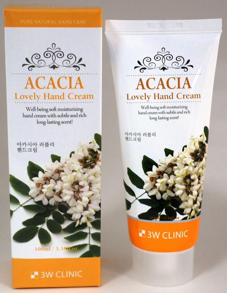 3W ClinicКрем для рук Acacia (Акация), 100 мл 3W Clinic