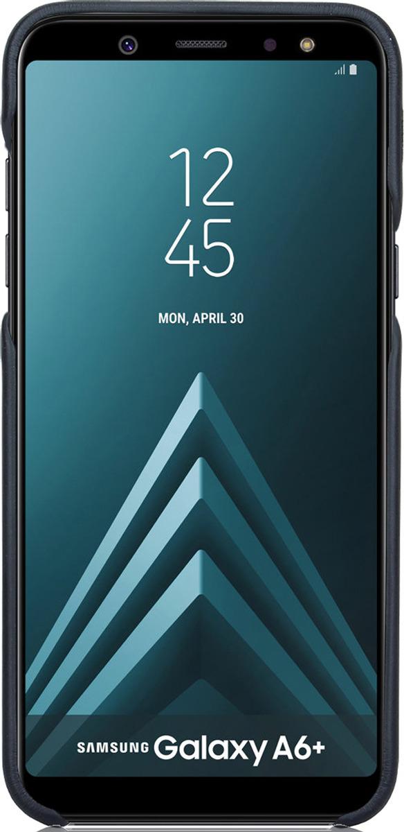Чехол G-Case Slim Premium для Samsung Galaxy А6+ (2018), Black чехол g case slim premium для samsung galaxy j6 2018 black