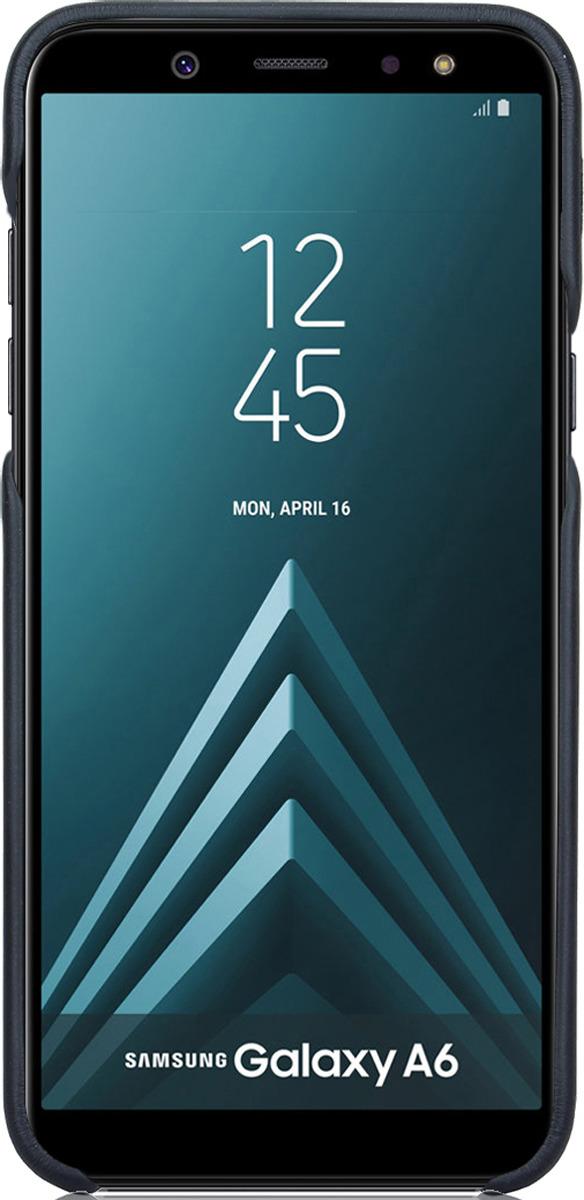 Чехол G-Case Slim Premium для Samsung Galaxy А6 (2018), Black чехол g case slim premium для samsung galaxy j6 2018 black