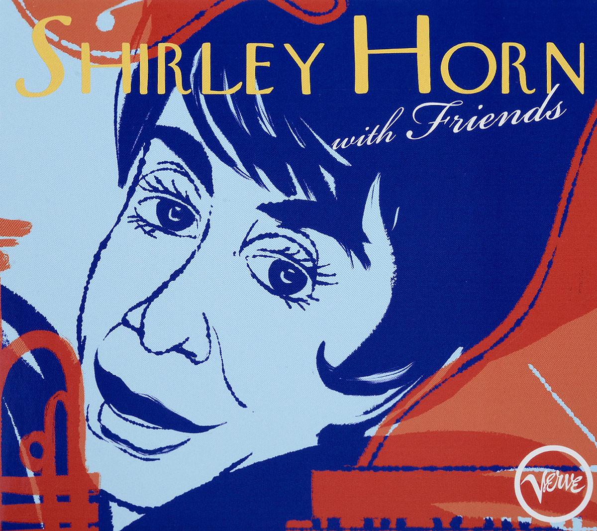 Ширли Хорн Shirley Horn. With Friends (2 CD) 200w car alarm siren 7 tone loudspeaker horn with round iron speaker police horn megaphone car styling buzzer