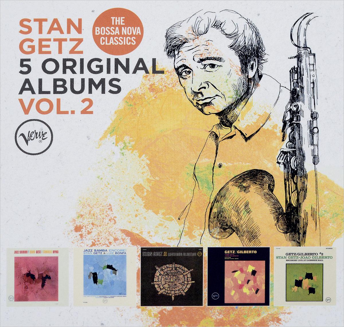 цены на Стэн Гетц Stan Getz. Original Albums Vol.2 (5 CD)  в интернет-магазинах